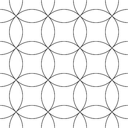 Abstract Repeat and Looping Vector Background Pattern
