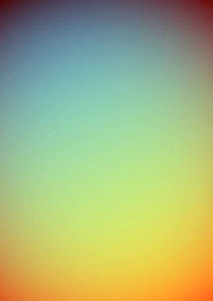 Abstract retro blurry summer background illustration