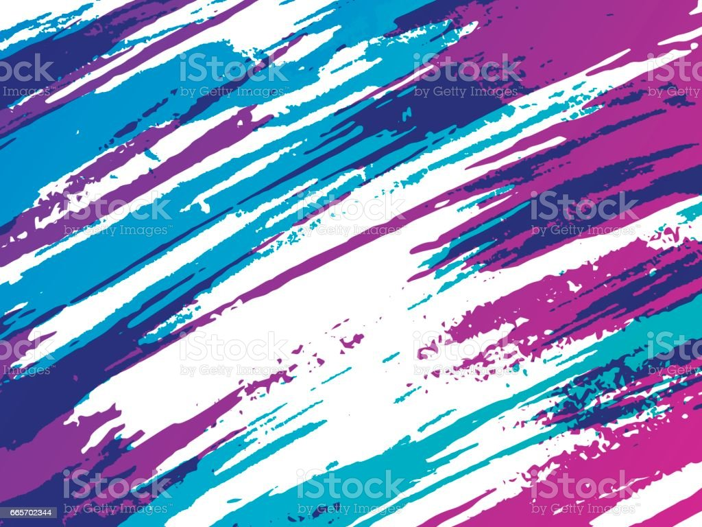 Abstract Retro Brush Background vector art illustration