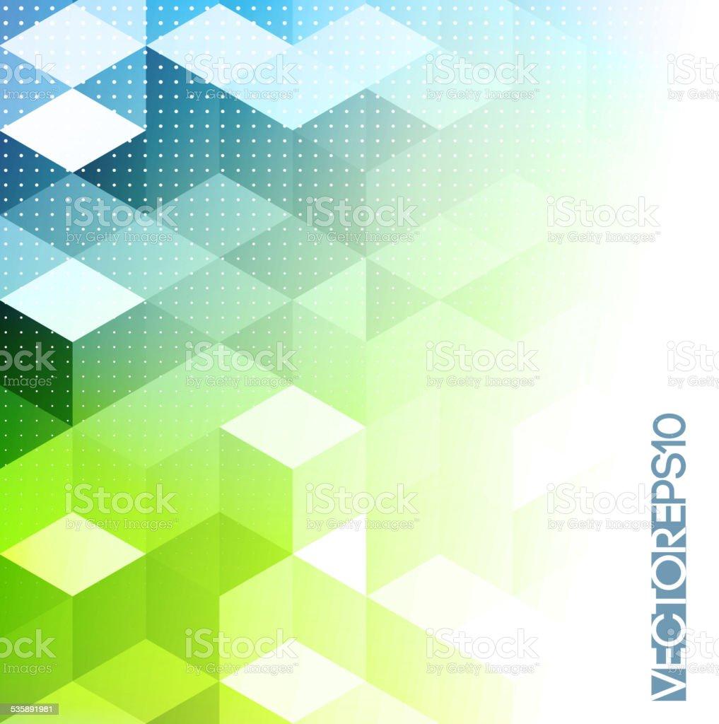 abstract retro geometric background template brochure design stock