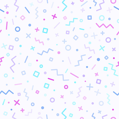 Abstract Retro Line Background