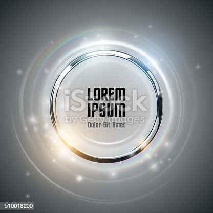 istock Abstract ring background with light effect 510018200