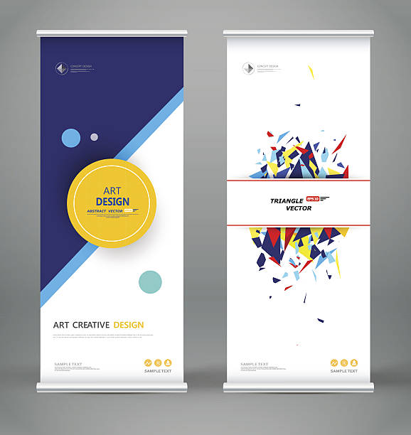 abstract roll up. creative round text frame font. - vertical stock illustrations, clip art, cartoons, & icons