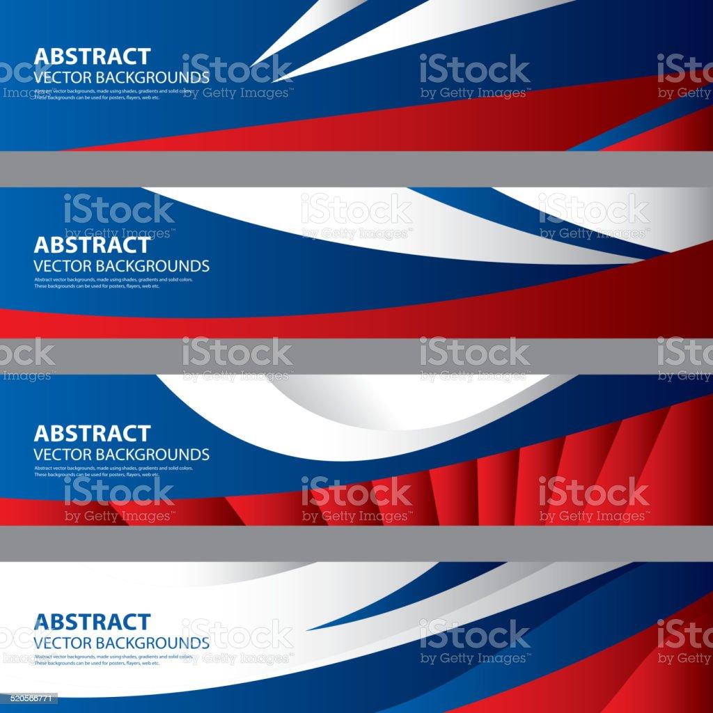 Abstract Russian Flag Background, Russia Art(Vector Art) vector art illustration
