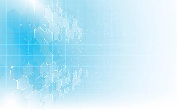 ilustraciones, imágenes clip art, dibujos animados e iconos de stock de abstract science texture pattern formula chemistry structure design concept background - laboratorio de ciencia