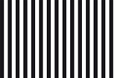 Abstract seamless background of black and white parallel vertical lines