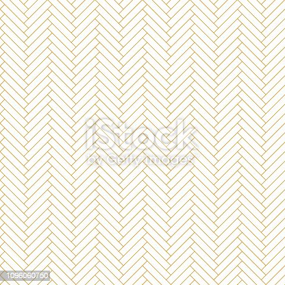 Abstract seamless background pattern - parquet - gold wallpaper - vector Illustration