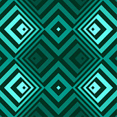 Abstract seamless background pattern - turquoise wallpaper - vector Illustration