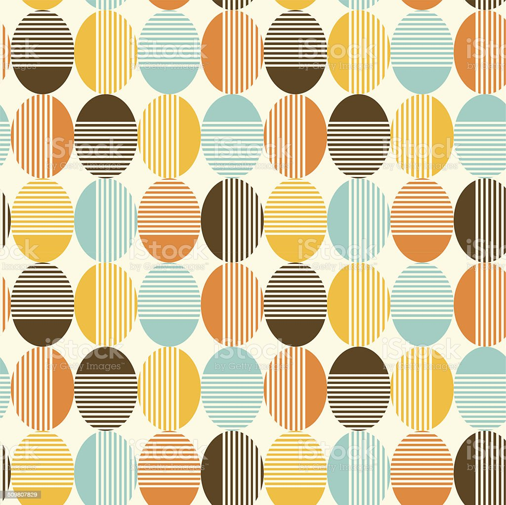 Abstract seamless background vector art illustration