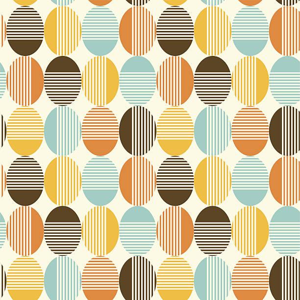 Abstract seamless background vector art illustration