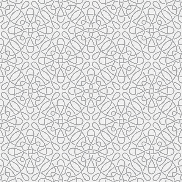 Abstract seamless background  celtic style stock illustrations