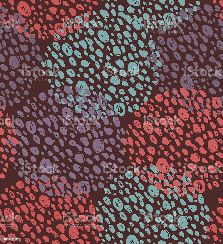 Abstract seamless background with dots. royalty-free stock vector art
