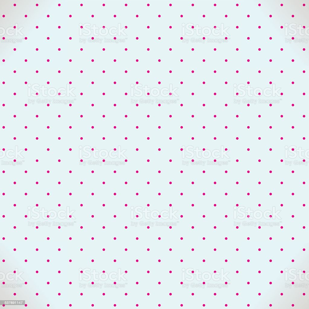 Abstract  seamless background with dots vector art illustration