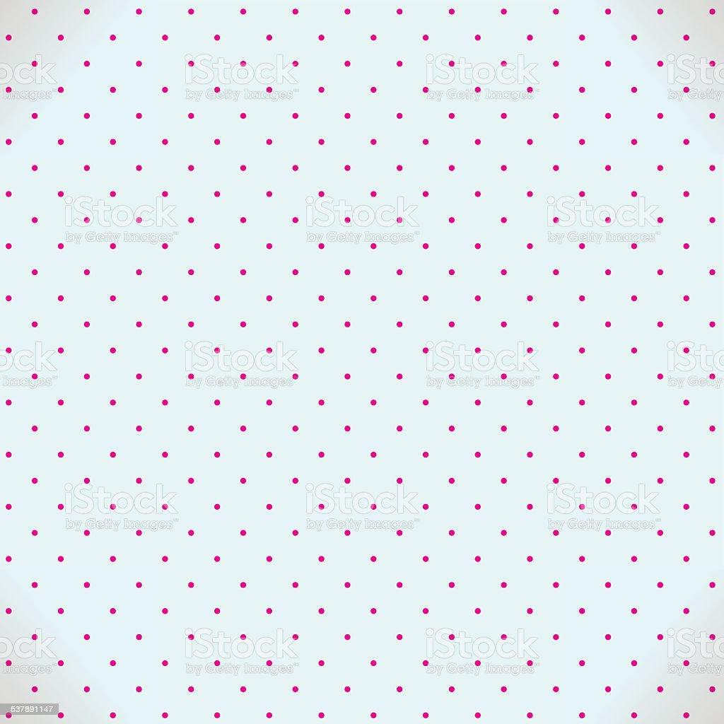 Abstrakte nahtlose Hintergrund mit Punkten – Vektorgrafik
