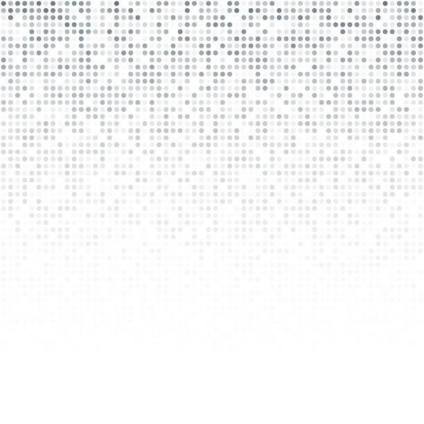 abstrakte nahtlose hintergrund muster mit punkten - freiflächen stock-grafiken, -clipart, -cartoons und -symbole