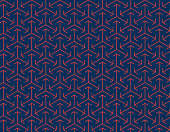 Abstract Seamless Japanese Arrow Pattern