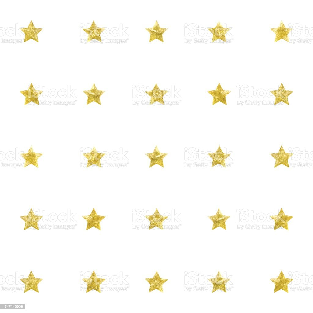 abstract seamless pattern background with gold stars vector