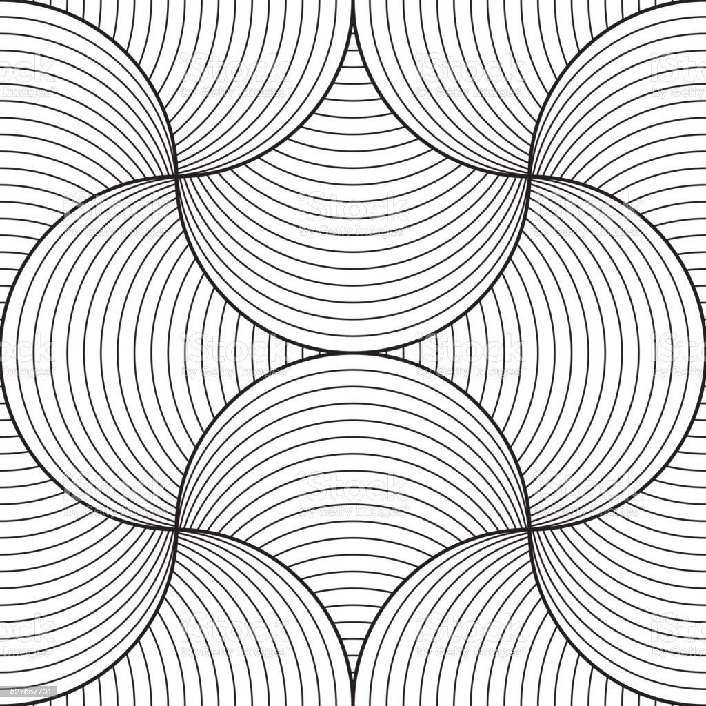 Line Art Design Abstract : Abstract seamless pattern line design vector stock