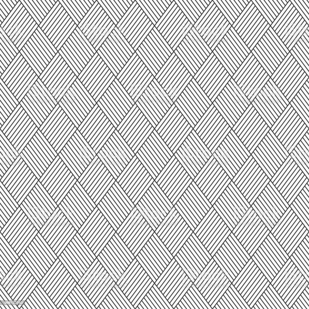Abstract seamless pattern of linear striped rhombuses. - Векторная графика Абстрактный роялти-фри