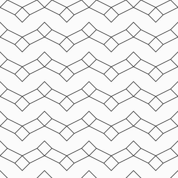 abstrakte musterdesign rhomben und rechteckigen formen. - gartendekorationen stock-grafiken, -clipart, -cartoons und -symbole