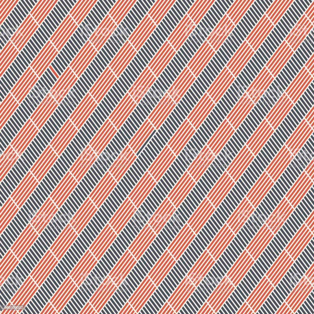 Abstrakta sömlösa mönster av korta Diagonala ränder. - Royaltyfri Abstrakt vektorgrafik