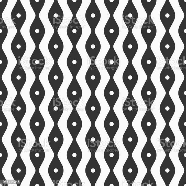 Abstrakta Sömlösa Mönster Av Mjuka Linjer Och Punkter-vektorgrafik och fler bilder på Abstrakt
