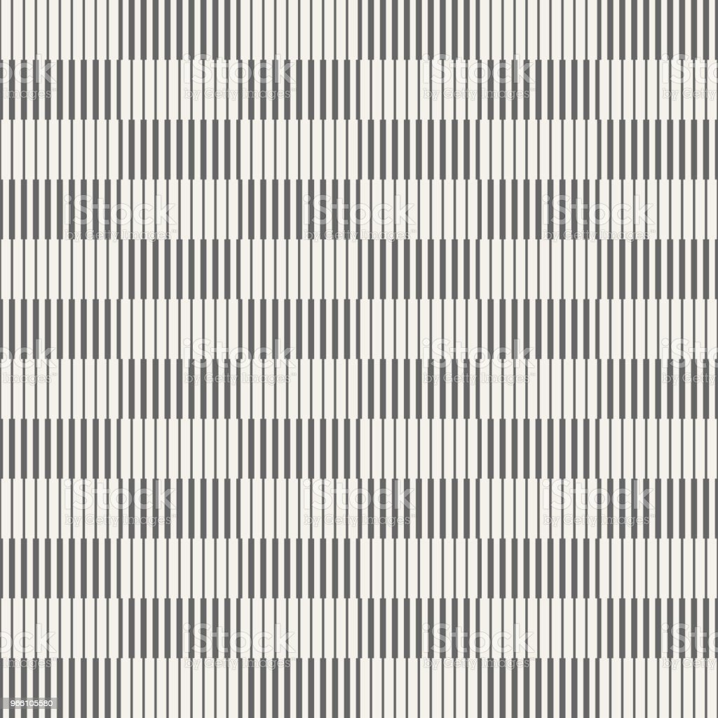 Abstract seamless pattern of striped rectangles. - Royalty-free Abstract stock vector