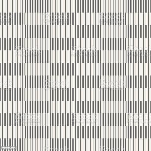 Abstrakta Sömlösa Mönster Av Randiga Rektanglar-vektorgrafik och fler bilder på Abstrakt