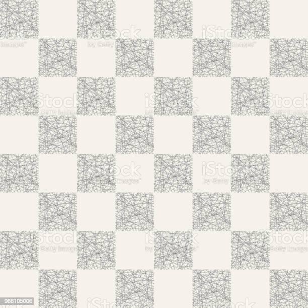Abstrakta Sömlösa Mönster Av Randiga Rutor-vektorgrafik och fler bilder på Abstrakt