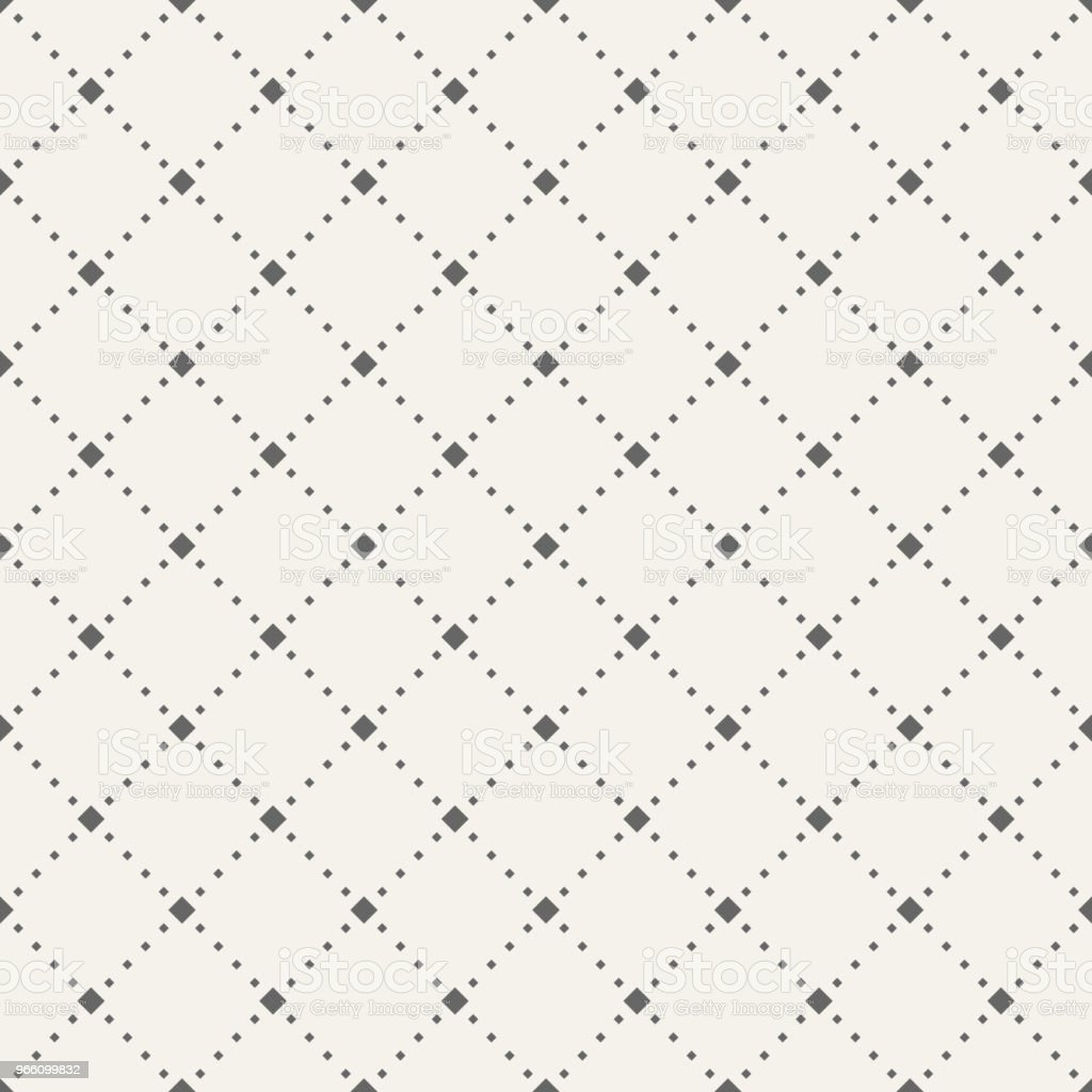 Abstract seamless pattern of tiny rhombuses. - Royalty-free Abstrato arte vetorial