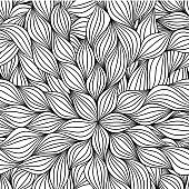 Abstract, layered artsy pattern