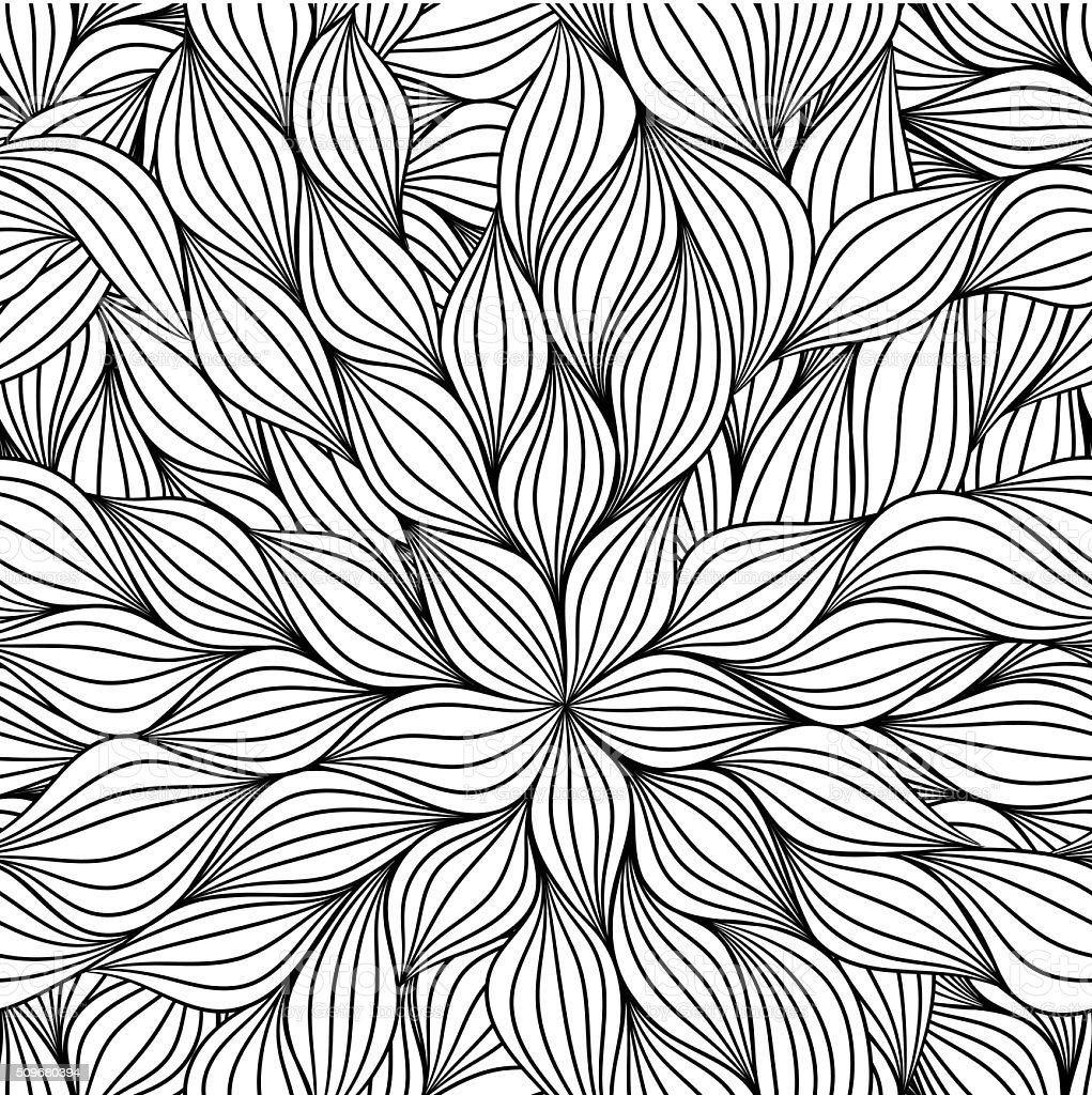 Abstract seamless pattern vector art illustration