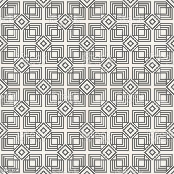 Abstrakte Nahtlose Muster Stock Vektor Art und mehr Bilder von Abstrakt