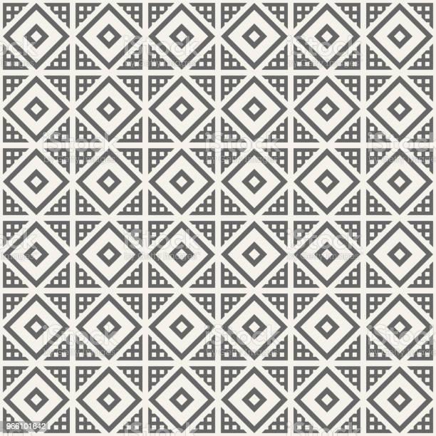 Абстрактный Бесшовный Шаблон — стоковая векторная графика и другие изображения на тему Аборигенная культура