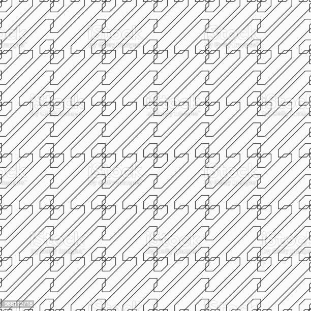 Abstract Seamless Pattern Stock Illustration - Download Image Now