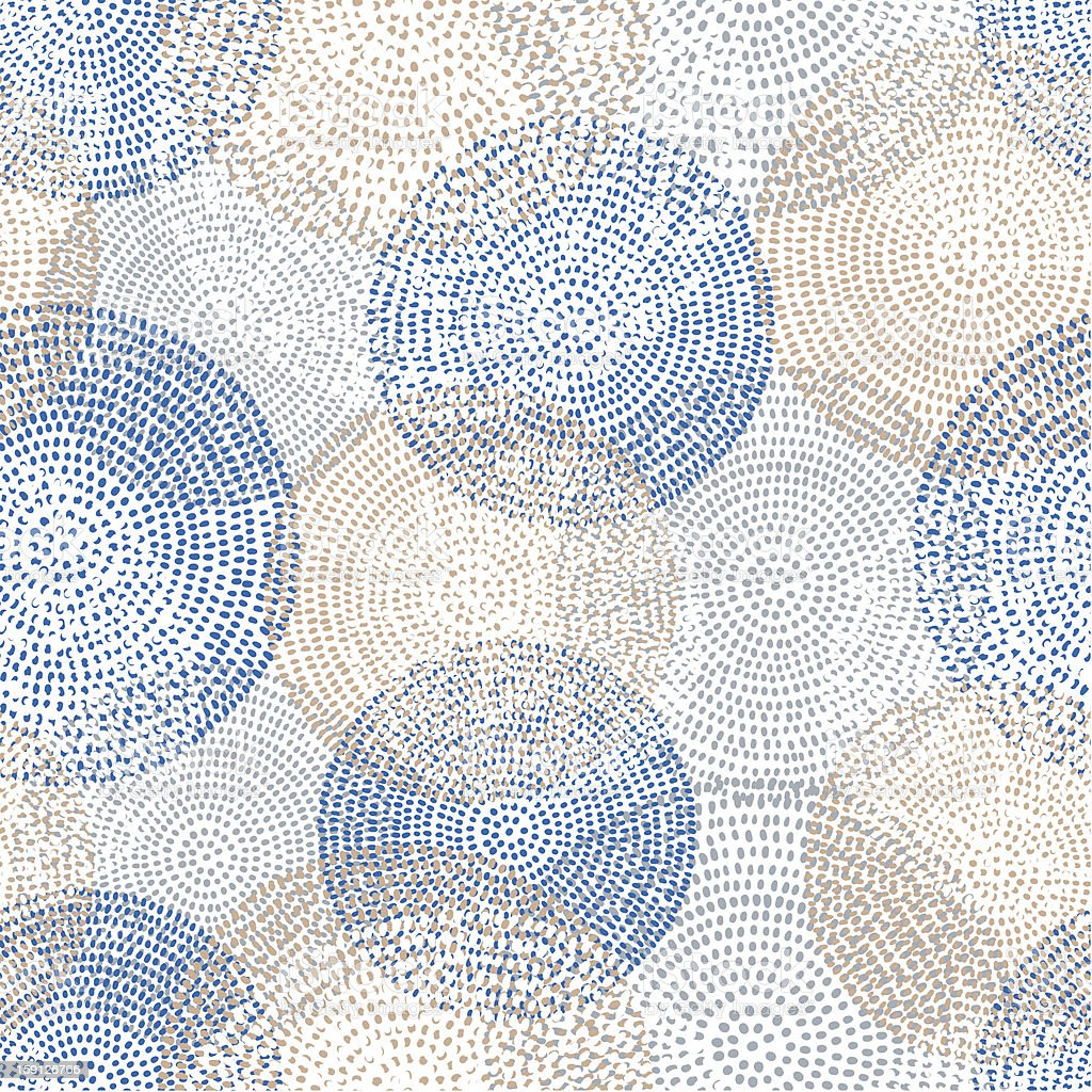 Abstract seamless pattern with circles Abstract seamless pattern with circles Abstract stock vector