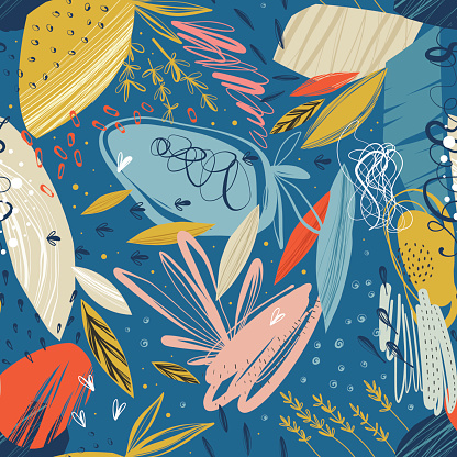 Abstract pattern stock illustrations