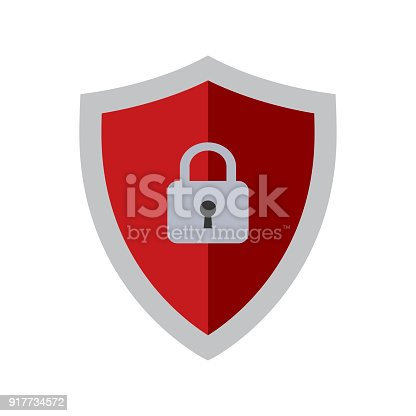 Abstract security vector icon