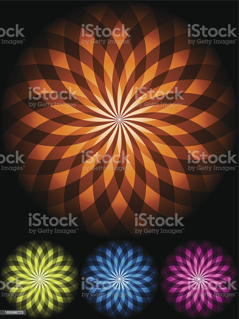 Abstract shape in four color sets royalty-free abstract shape in four color sets stock vector art & more images of abstract