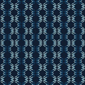 Abstract Shapes Lines Pattern Seamless Vector Pattern. Indigo Blue Batik Dye Background Texture Illustration for Trendy Home Decor, Masculine Fashion Prints, Japanese Style Wallpaper, Graphic Textile.