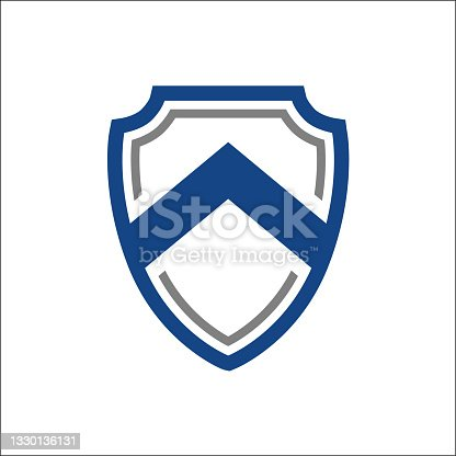 istock Abstract Shield Security Technology Medieval Shield Safety Symbol 1330136131
