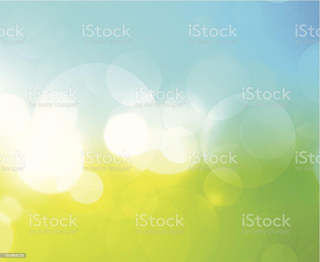 Abstract shiny circles royalty-free stock vector art