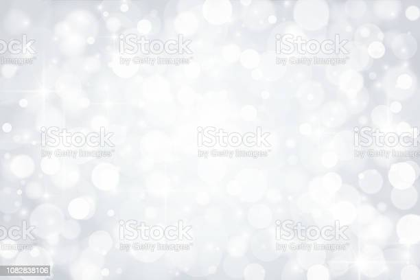 Abstract Shiny Silver Background Stock Illustration - Download Image Now