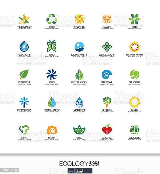 Abstract sign set for business company ecology plant bio nature vector id585521148?b=1&k=6&m=585521148&s=612x612&h=u3gtn76vhvuzwr1gsz694p9argepzlinimacw4xxqaw=