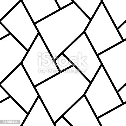 abstract simple geometric lines seamless pattern design