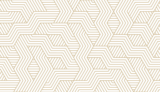 Abstract simple geometric vector seamless pattern with gold line texture on white background. Light modern simple wallpaper, bright tile backdrop, monochrome graphic element clipart