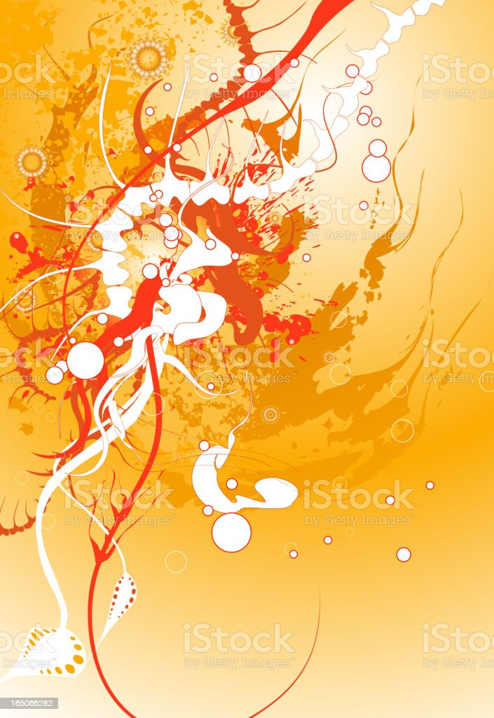 Abstract Skeleton royalty-free stock vector art
