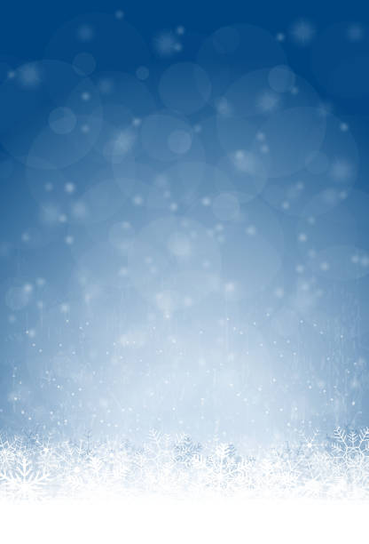 ilustrações de stock, clip art, desenhos animados e ícones de abstract snow flakes background - background christmas snow