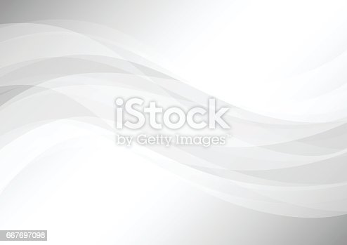 istock Abstract soft gray background 667697098
