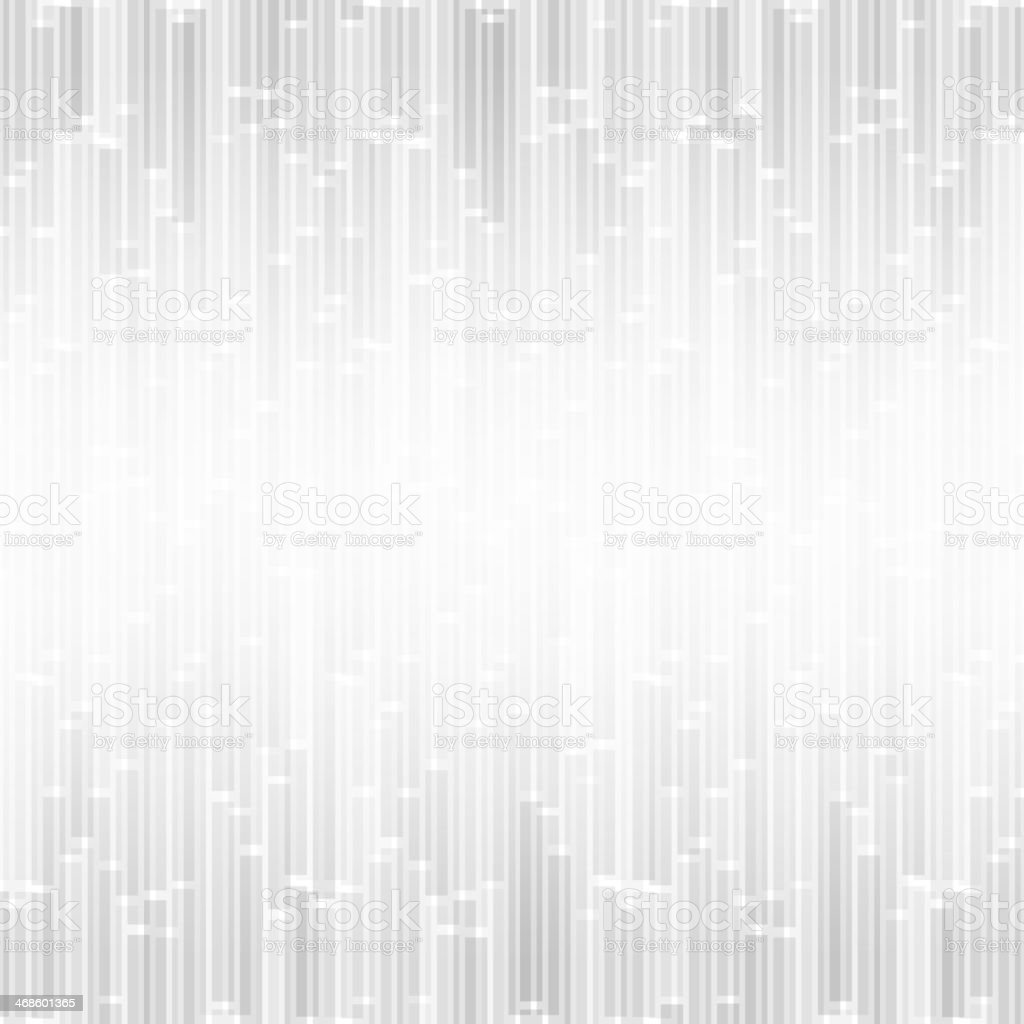 Abstract soft gray bars on a white background vector art illustration